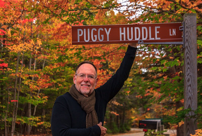 Puggy Huddle Lane - our home for four nights in New Hampshire