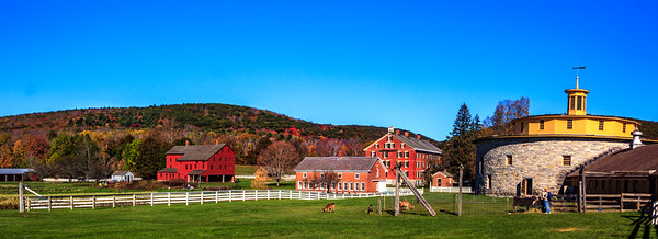 New England Fall Foliage - Shaker Village - Oct 2017