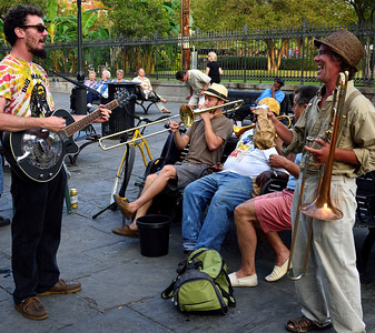 Jackson Square Musicians