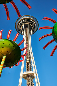 Space Needle from Seattle Center