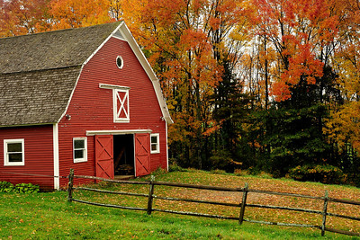 Farm in Autumn--Along Cloudland Rd 3