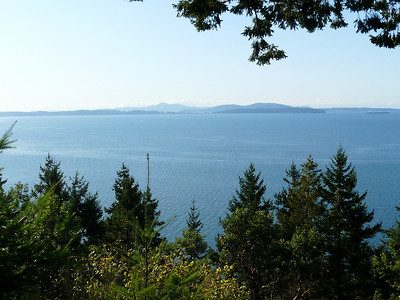 Chuckanut Drive (scenic drive) - outside Bellingham Washington