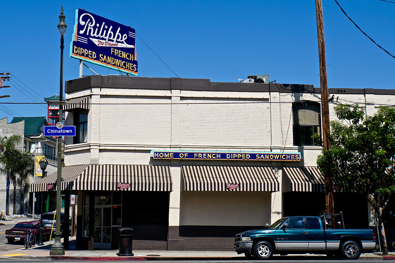 Philippe's Restaurant Los Angeles