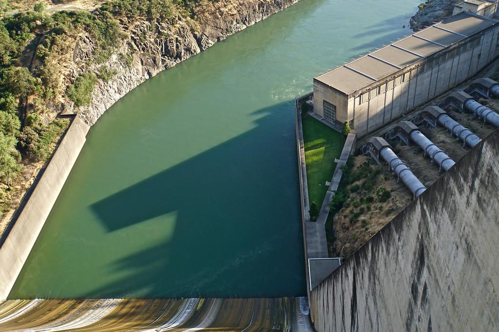Shasta Dam Spillway