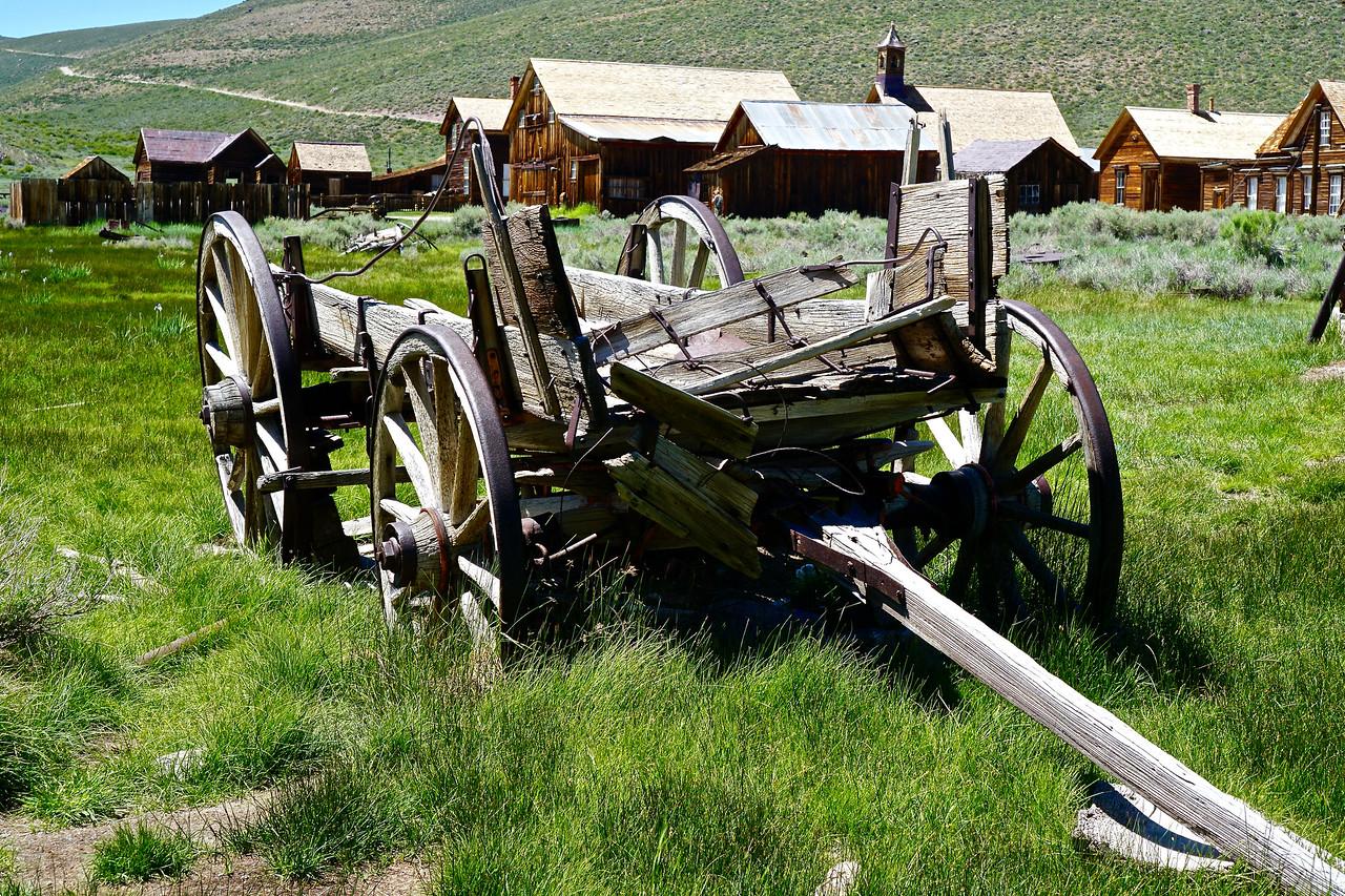 Bodie Horse Drawn Wagon