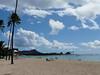 Ala Moana Park looking towards Diamond Head