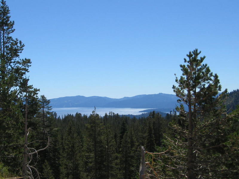2007 Tahoe 199 Lake Tahoe view from Mt Rose Highway on the way down