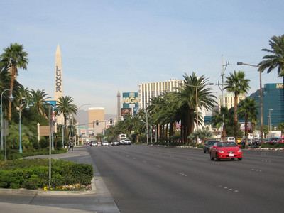 2007 along The Strip