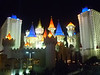 Excalibur--there is a monorail between it, Luxor and Mandalay Bay