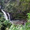 Upper Waikani Falls (The Three Bears Falls)