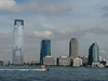 Jersey City view from lower Manhattan