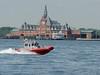Ellis Island viewed from lower Manhattan