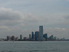Jersey City viewed from the Staten Island Ferry