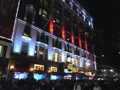 2013 New York City pre-Christmas