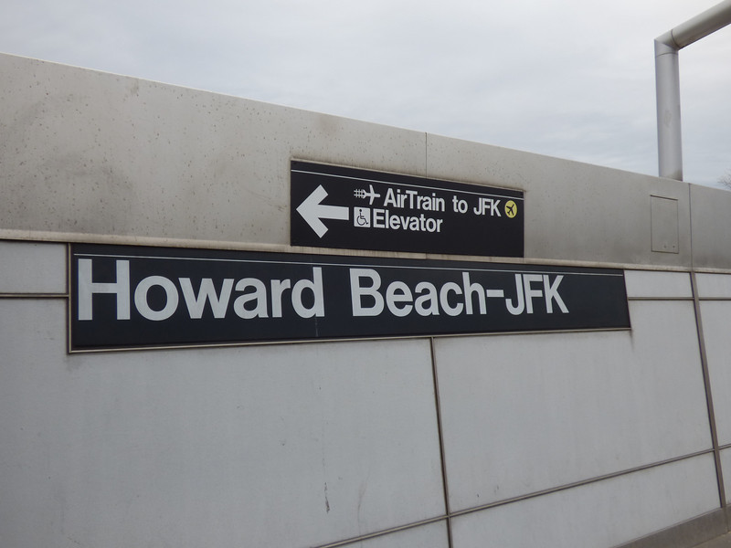 subway station at JFK