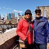 Brooklyn Bridge - Debra and John