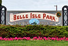 Belle Isle Park sign_F