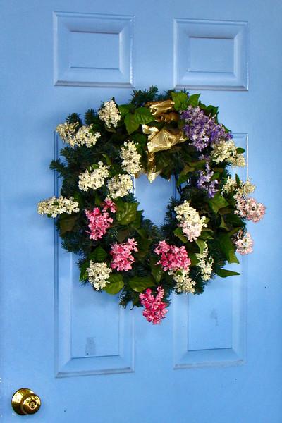 BlueDoor wreath