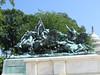 statue near Reflecting Pool