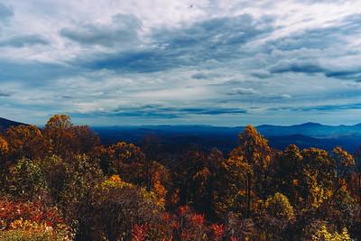 Autumn on the Blue Ridge