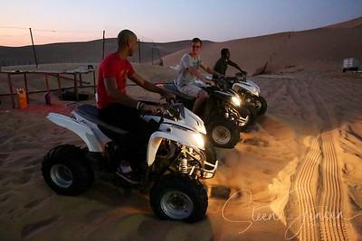 Travel; United Arab Emirates; Abu Dhabi; Dessert Tour;