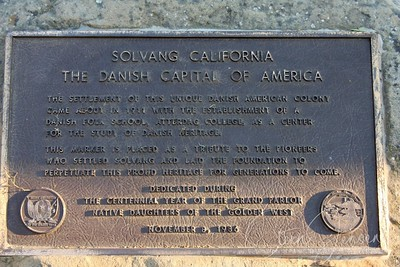 Travel; United states of America; California; Solvang;