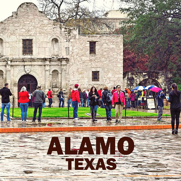 ALAMO MISSION AND FORTRESS