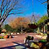 DALLAS ARBORETUM & BOTANICAL GARDEN, TEXAS, USA