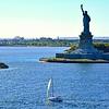 MANHATTAN ISLAND SKYLINE, NEW YORK, NY, USA