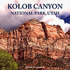 KOLOB CANYON OF ZION NATIONAL PARK, UTAH, USA