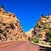 A view of the scenic Highway 12 in Utah.