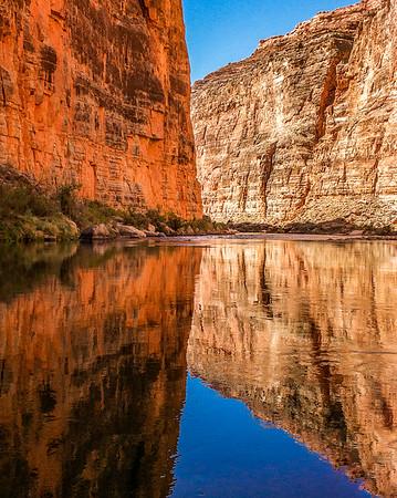 Canyon Walls and Reflections