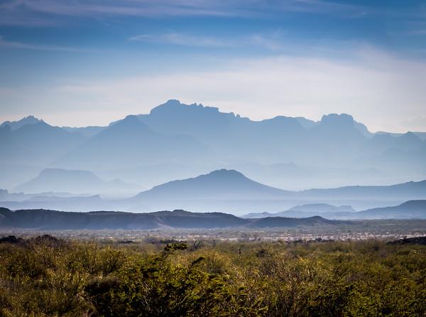 Dead Horse mountains, Big Bend