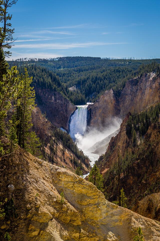 Lower Falls Canyon