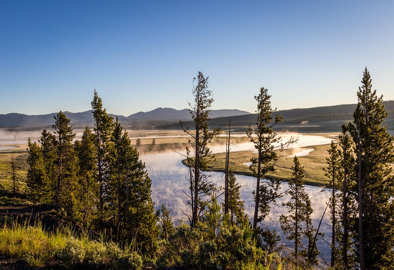 Yellowstone River  Vista