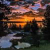 Geyser Pools at Sunrise