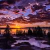 Geyser Basin Sunrise