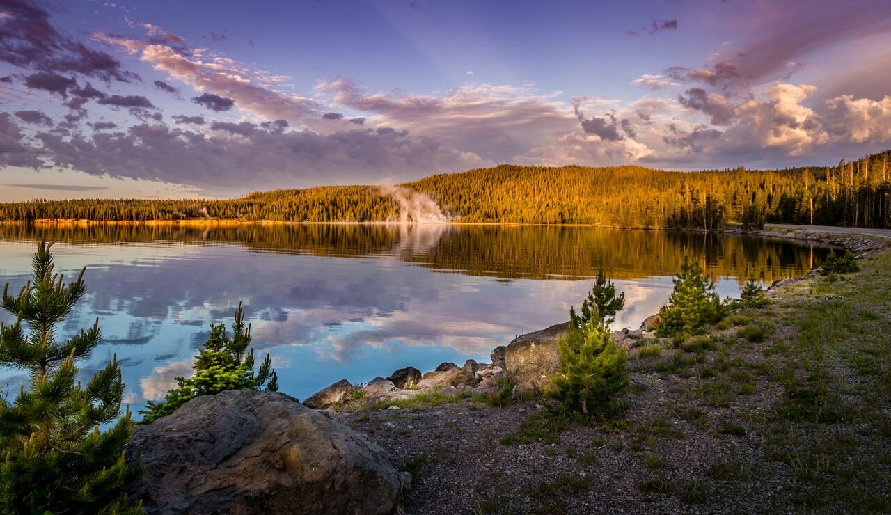 Yellowstone Lake view
