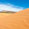 Climbing the tallest dune