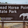 Dead Horse Point State Park entrance