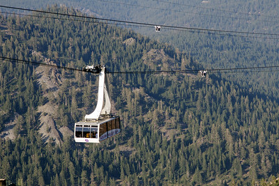 The Gondola up to the High Camp at Squaw Valley