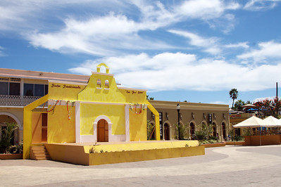Town square in San Jose del Cabo.