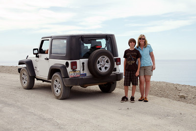 The next day, we rented a guide and his Jeep to explore the backcountry enroute to our snorkeling destination.