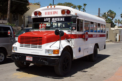 The Love Machine. I want this bus!