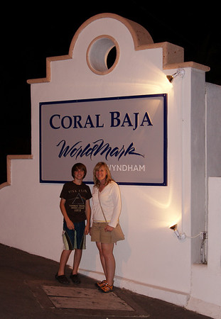 Our resort - the Coral Baja in San Jose del Cabo.