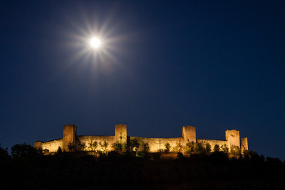 Monteriggioni after dark