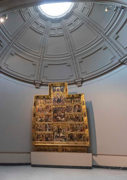 Altarpiece of St. George, Victoria & Albert Museum, 06-25-2018