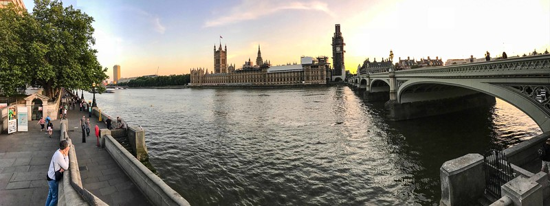 Houses of Parliament and Big Ben, London, 06-24-2018