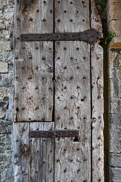 Interior door, Chepstow Castle, 07-03-2018