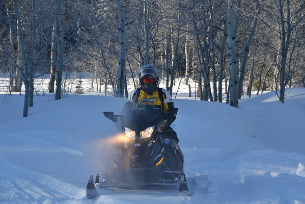 Snowmobiling (March 18)